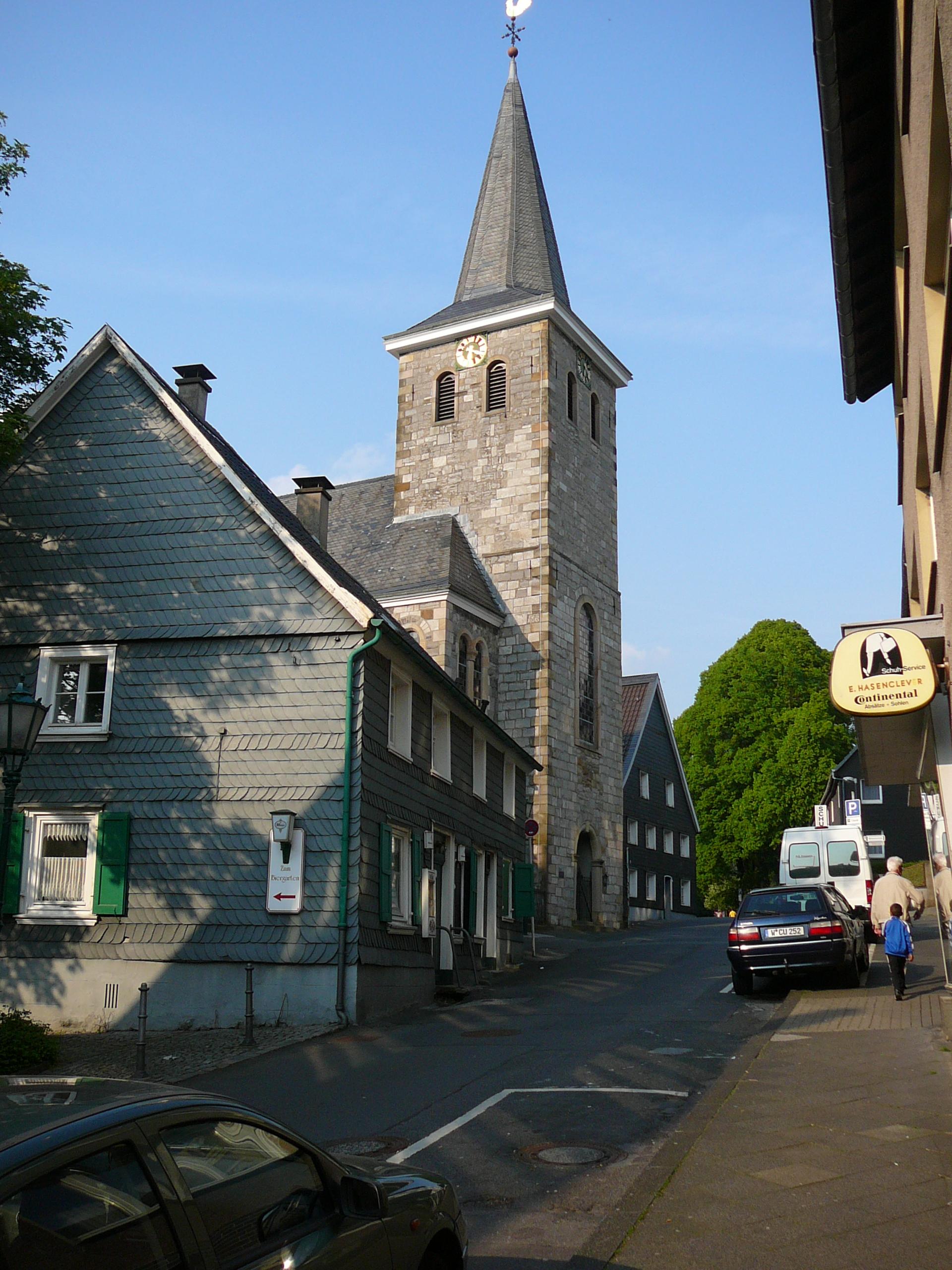 Alte Kirche (Wuppertal-Langerfeld) - Wikiwand