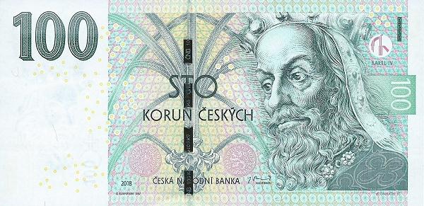 File:100 Czech koruna Obverse.jpg - Wikimedia Commons