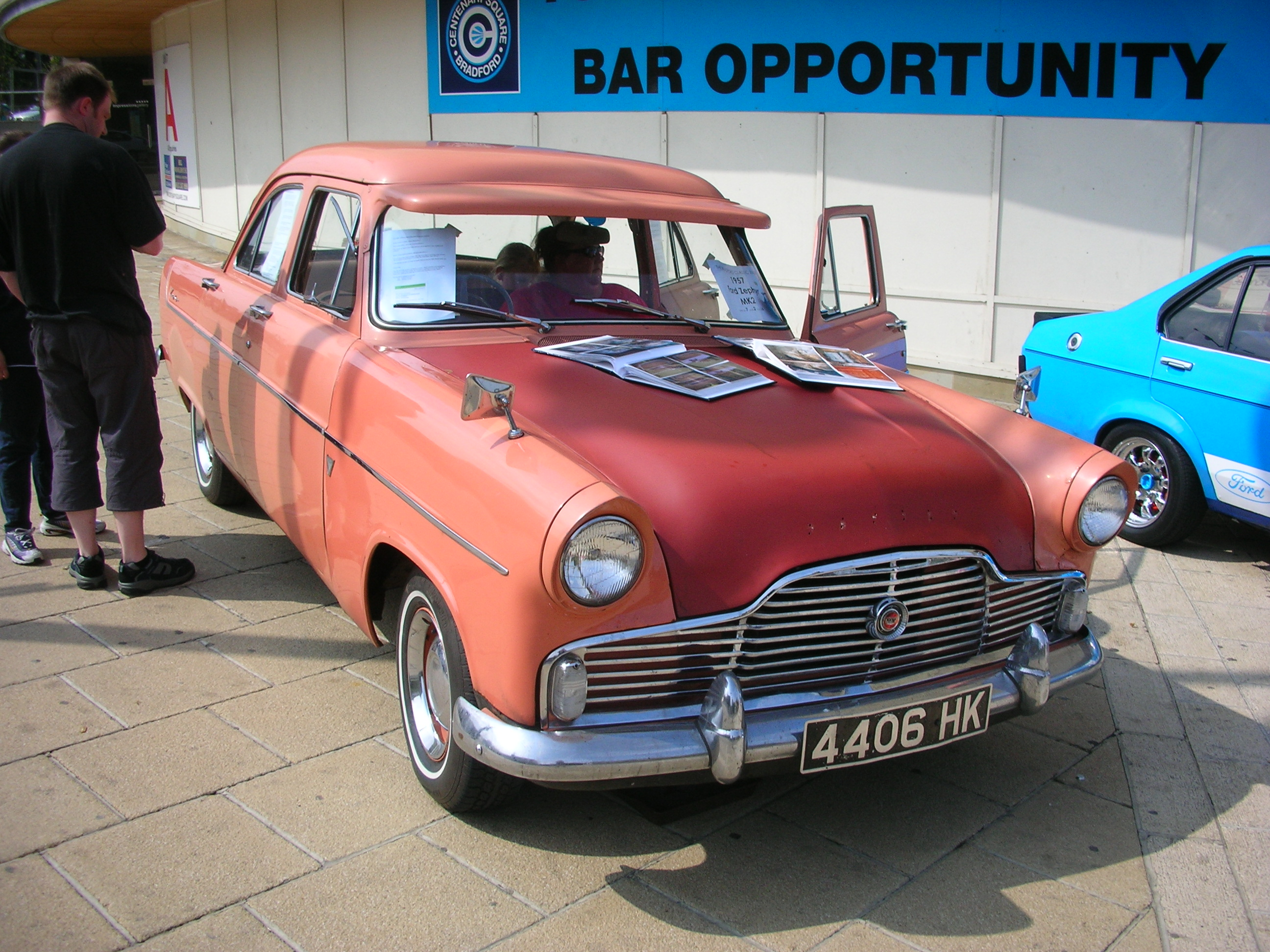 Build A Ford >> File:1957 Ford Zephyr Mk2.jpg - Wikimedia Commons