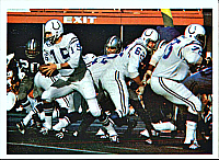 The Colts against Dallas in their first Super Bowl championship (V).