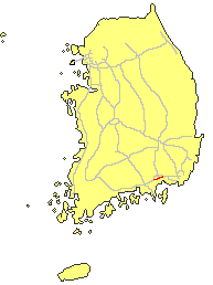 1st blanch line of Namhae expressway.PNG