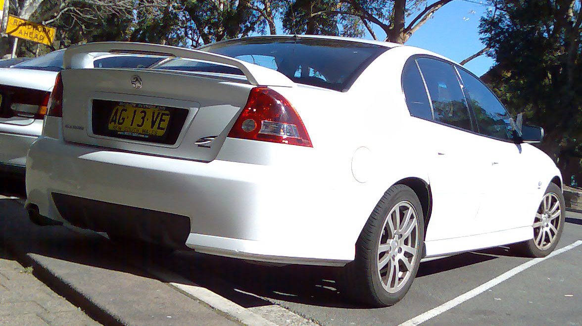 2003 Holden VY Commodore SS Wagon. The SS Wagon was a limited edition run