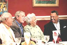 File:2007 Norman Francis, George W. Bush, Leah Chase, Fred Luter.jpg