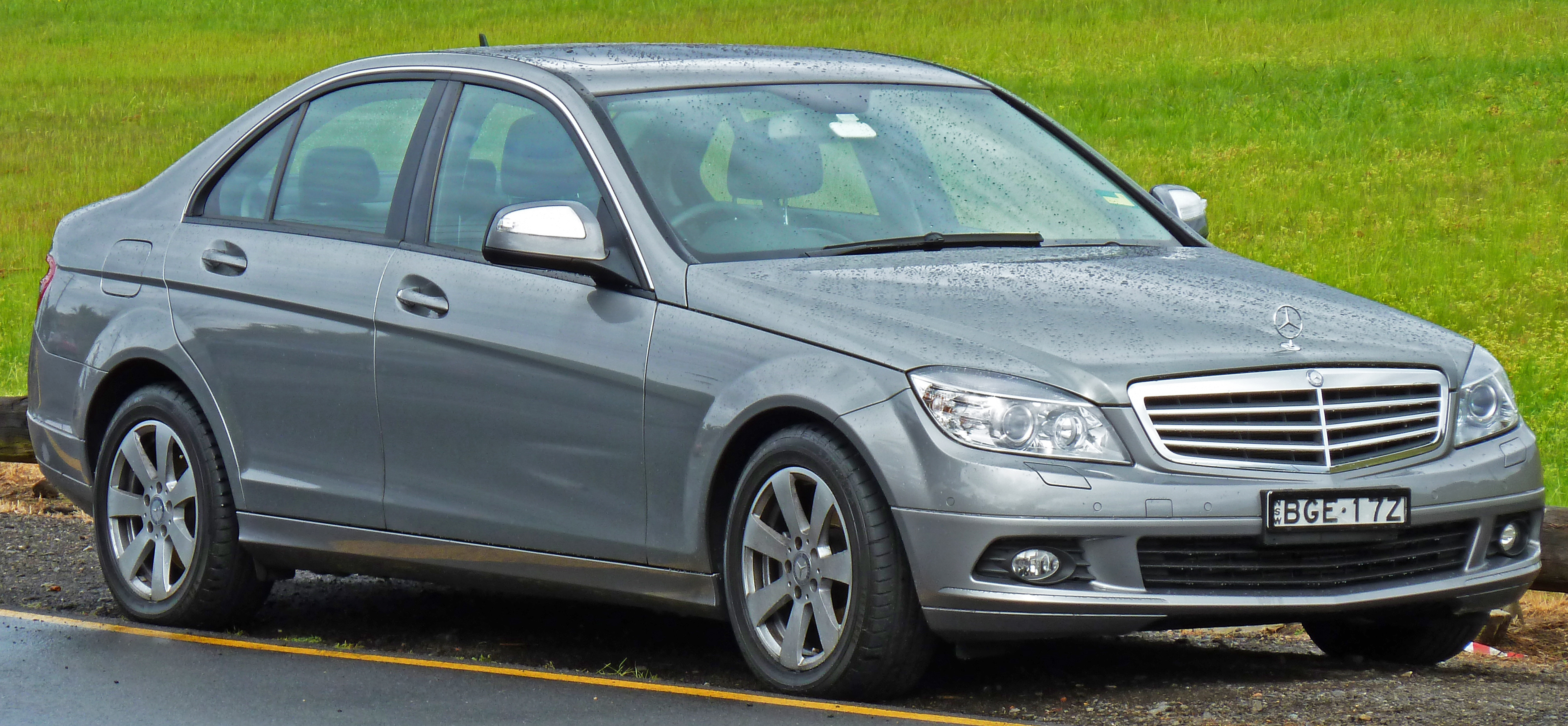 file:2008 mercedes-benz c 200 kompressor (w 204) classic sedan