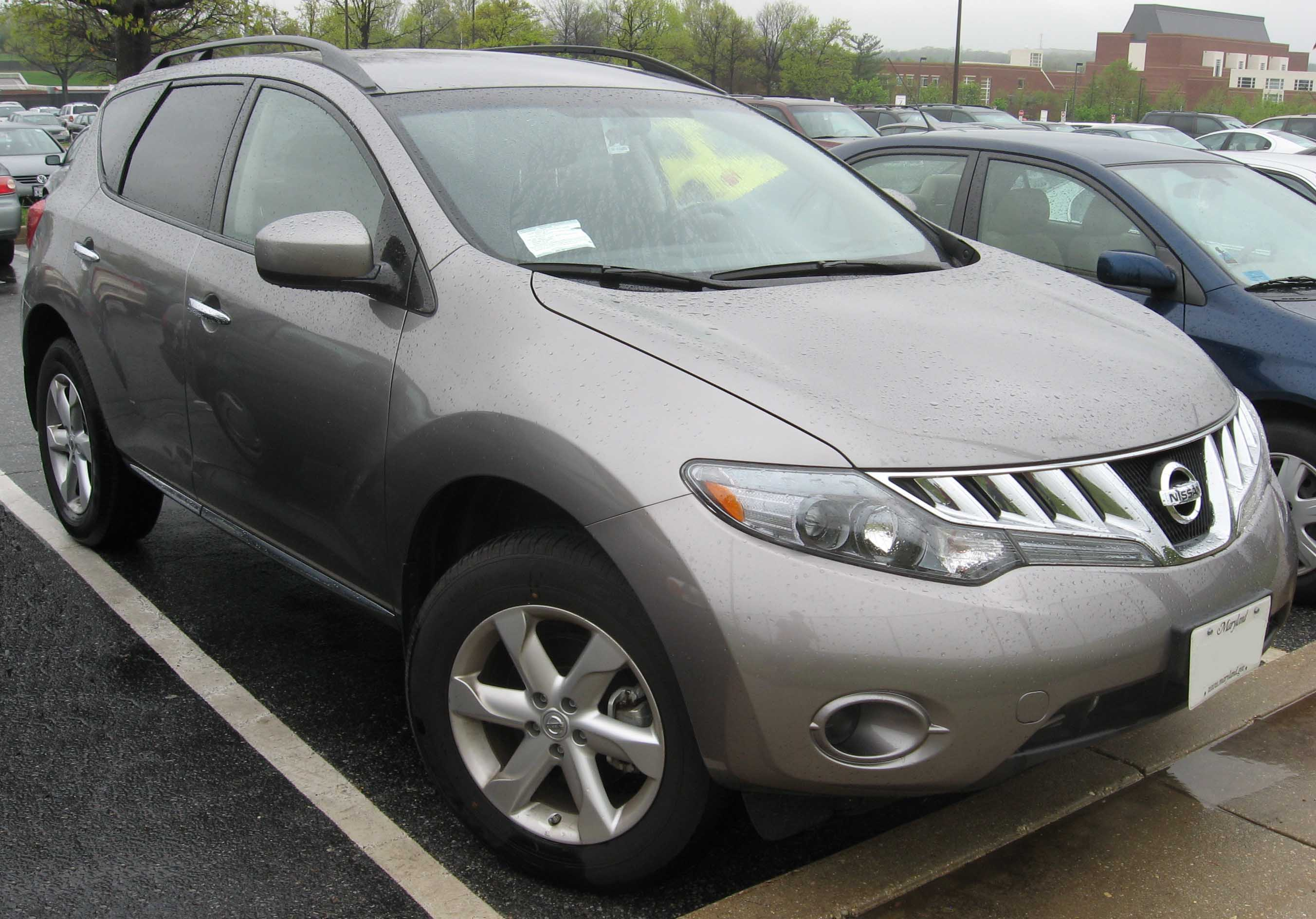 File2009 nissan murano sg wikimedia commons file2009 nissan murano sg vanachro Image collections