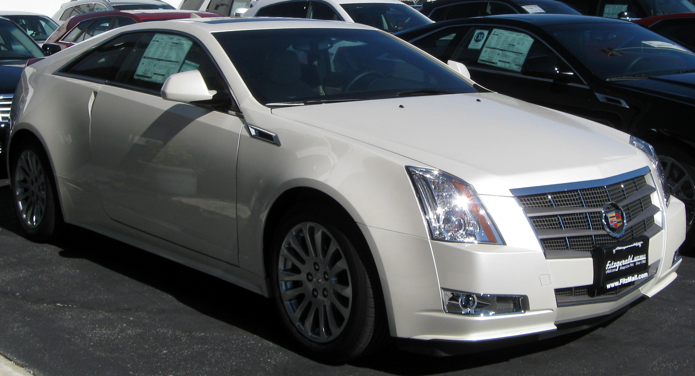File2011 Cadillac CTS coupe  10222010 1jpg  Wikimedia Commons