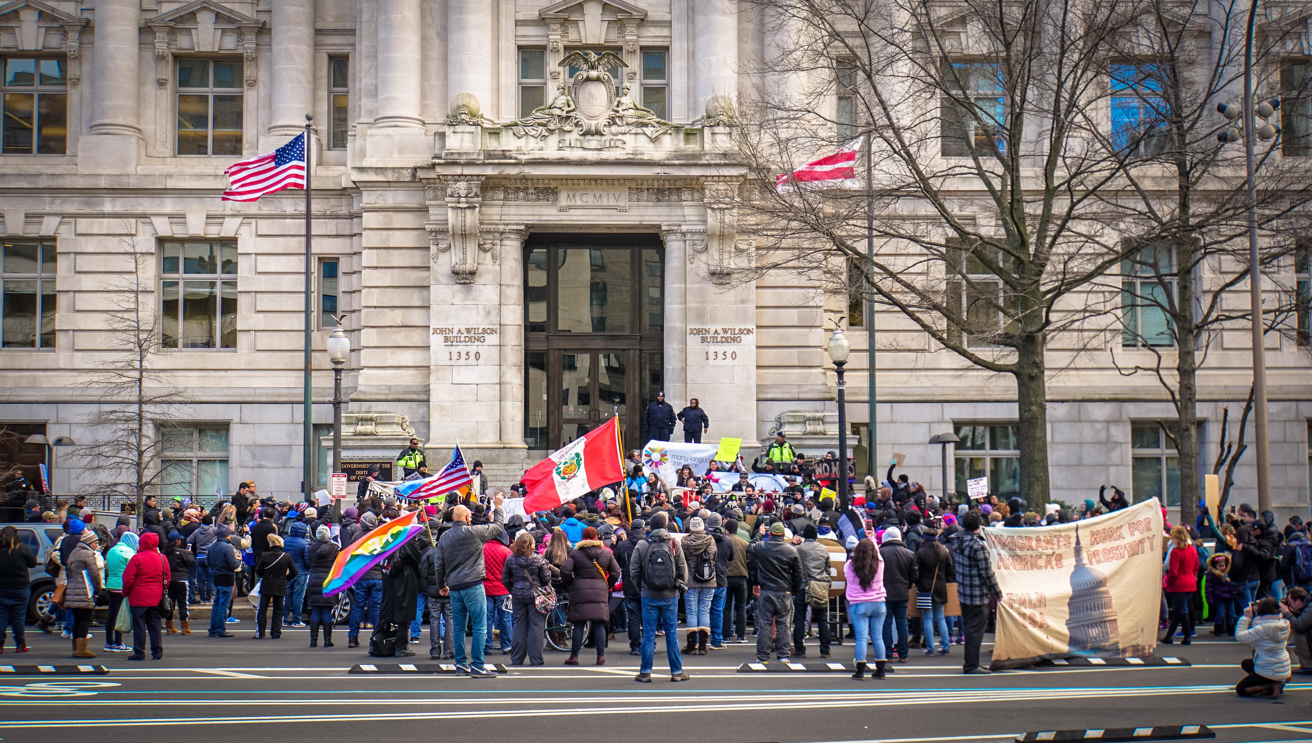 Protesta un día sin inmigrantes - Wikipedia, la enciclopedia libre