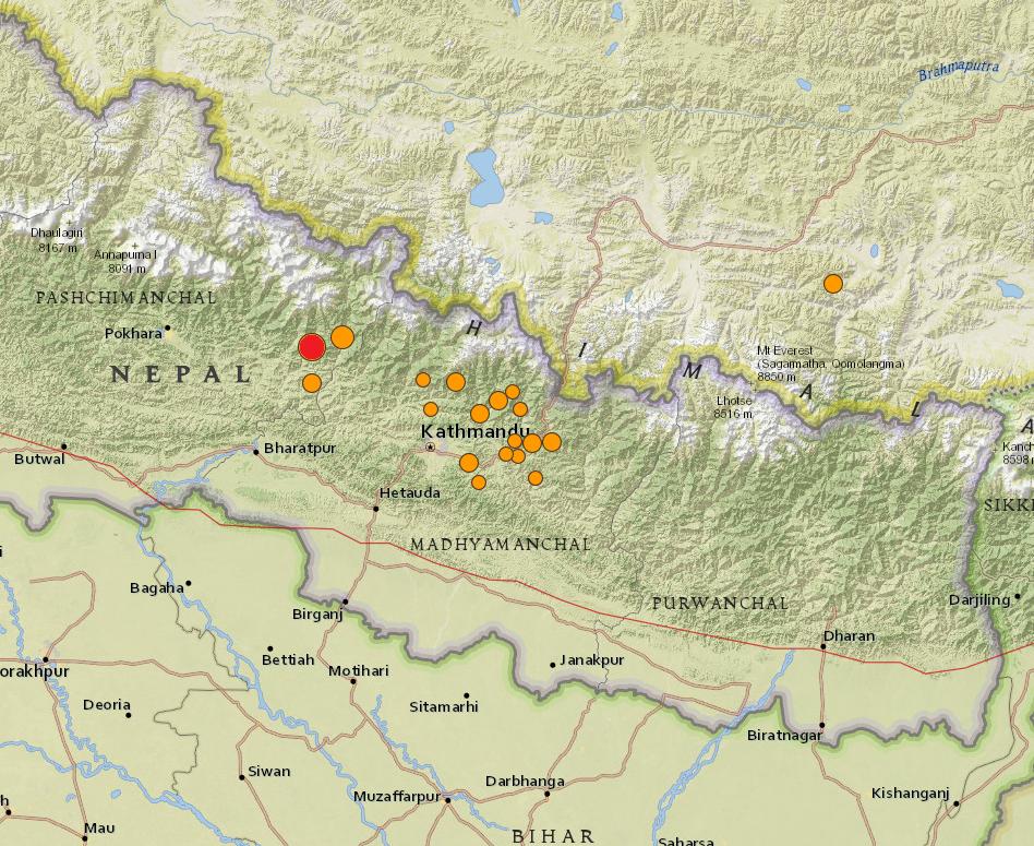 La Earthquake April 2015