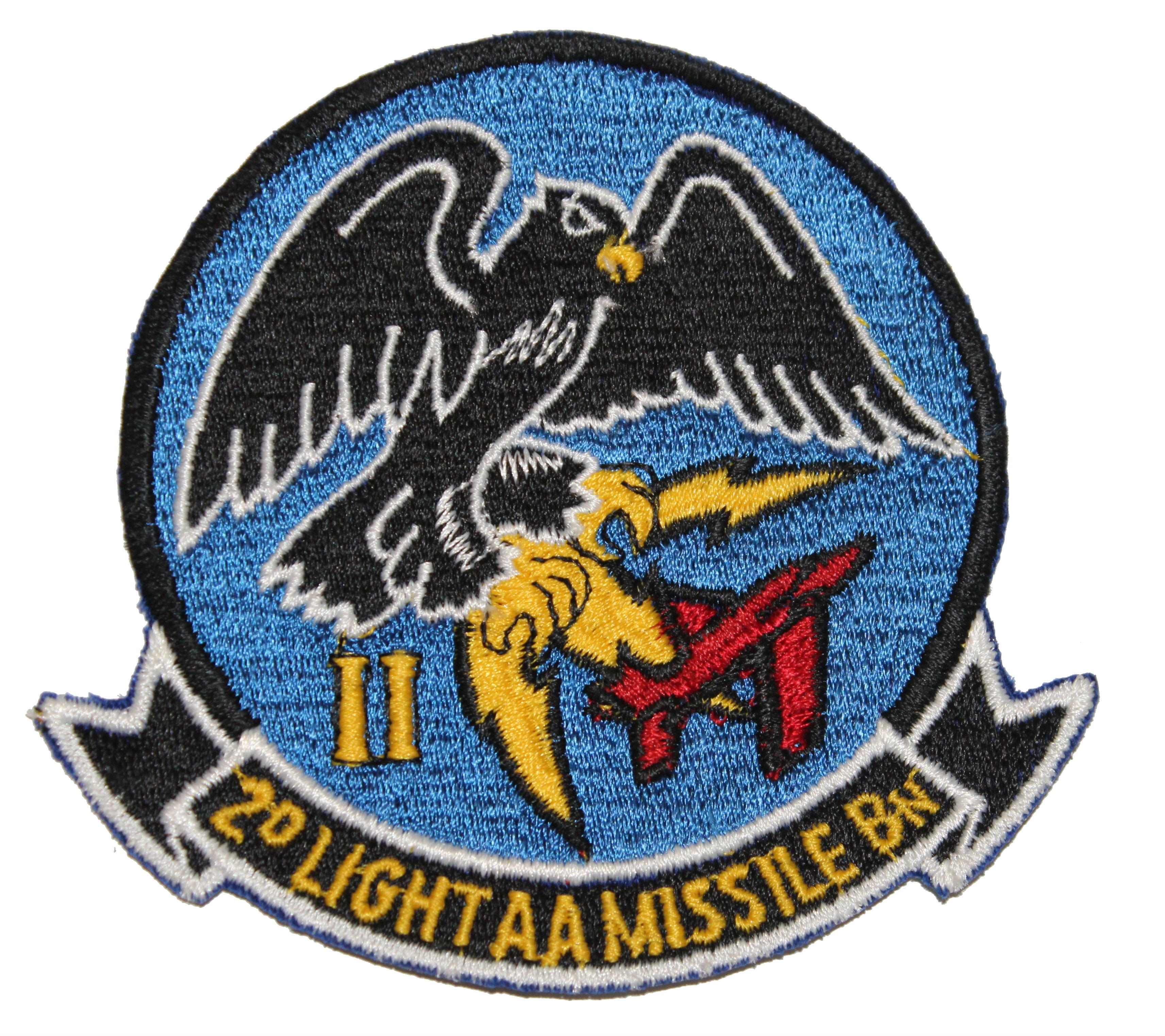 USMC 2d LAAM Bn PATCH Marines 2nd Light Anti-Aircraft Missile Battalion HAWK !