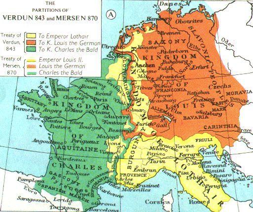 Le traité de 843