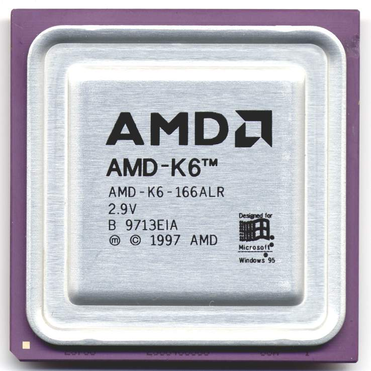 AMD K6          Oh no, there's been an error