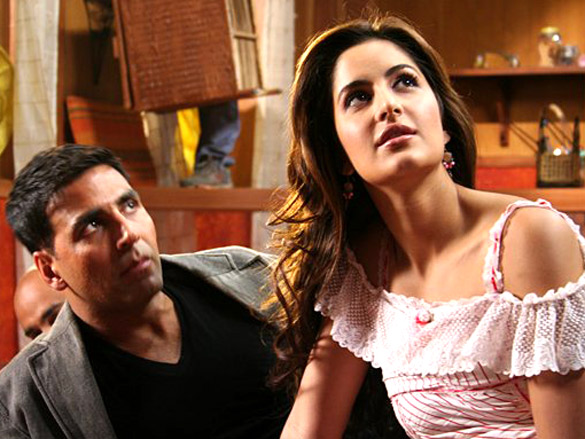 Akshay Kumar and Katrina Kaif in Welcome movie