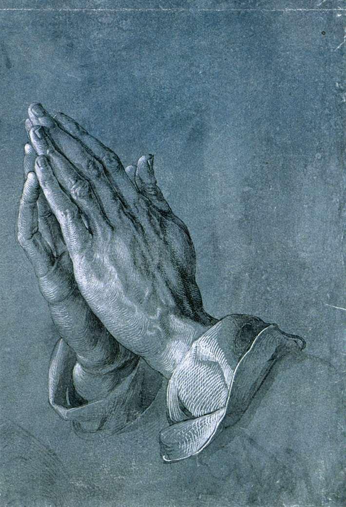 Albrecht Dürer, Study of an Apostle's Hands