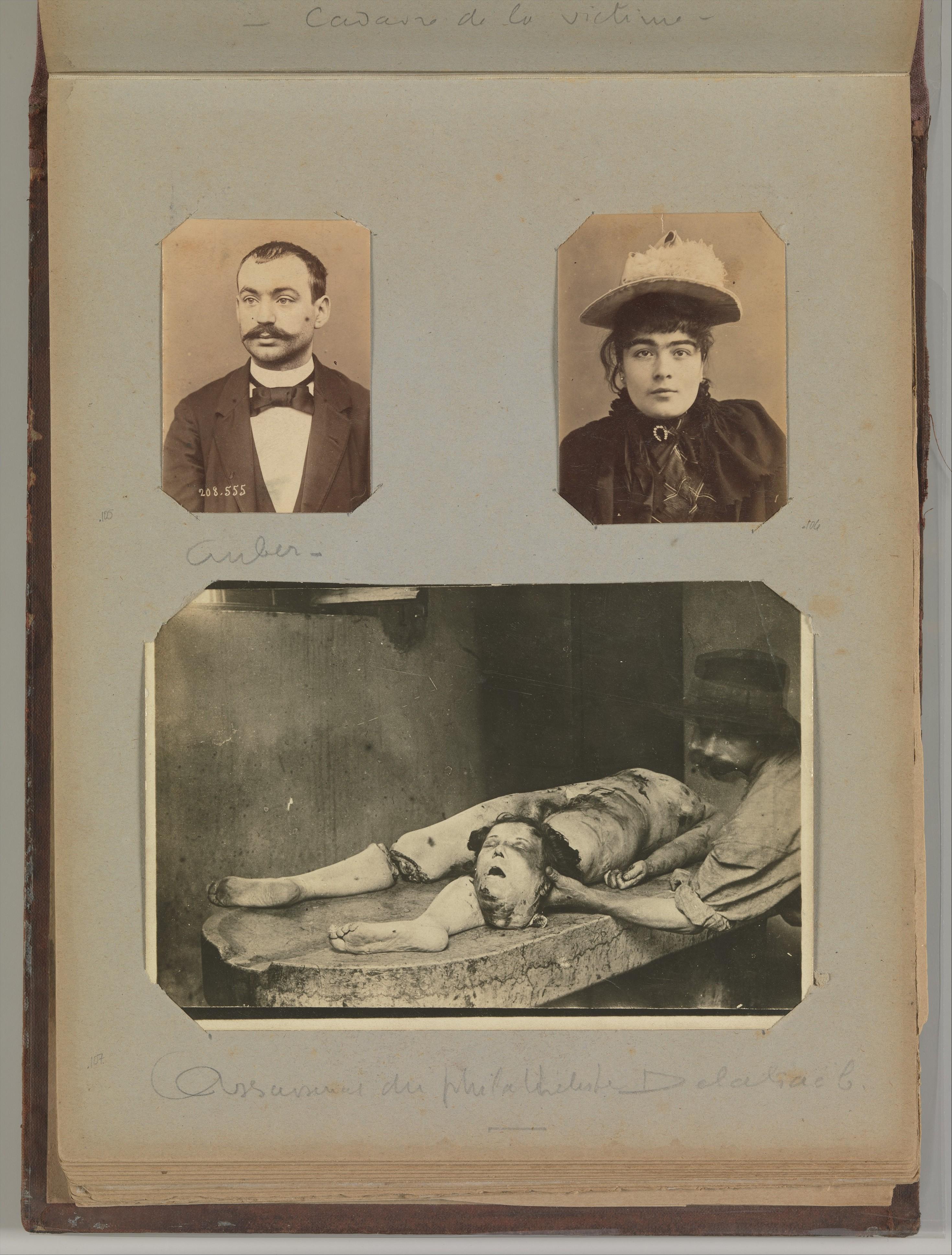 Risultati immagini per ALPHONSE BERTILLON
