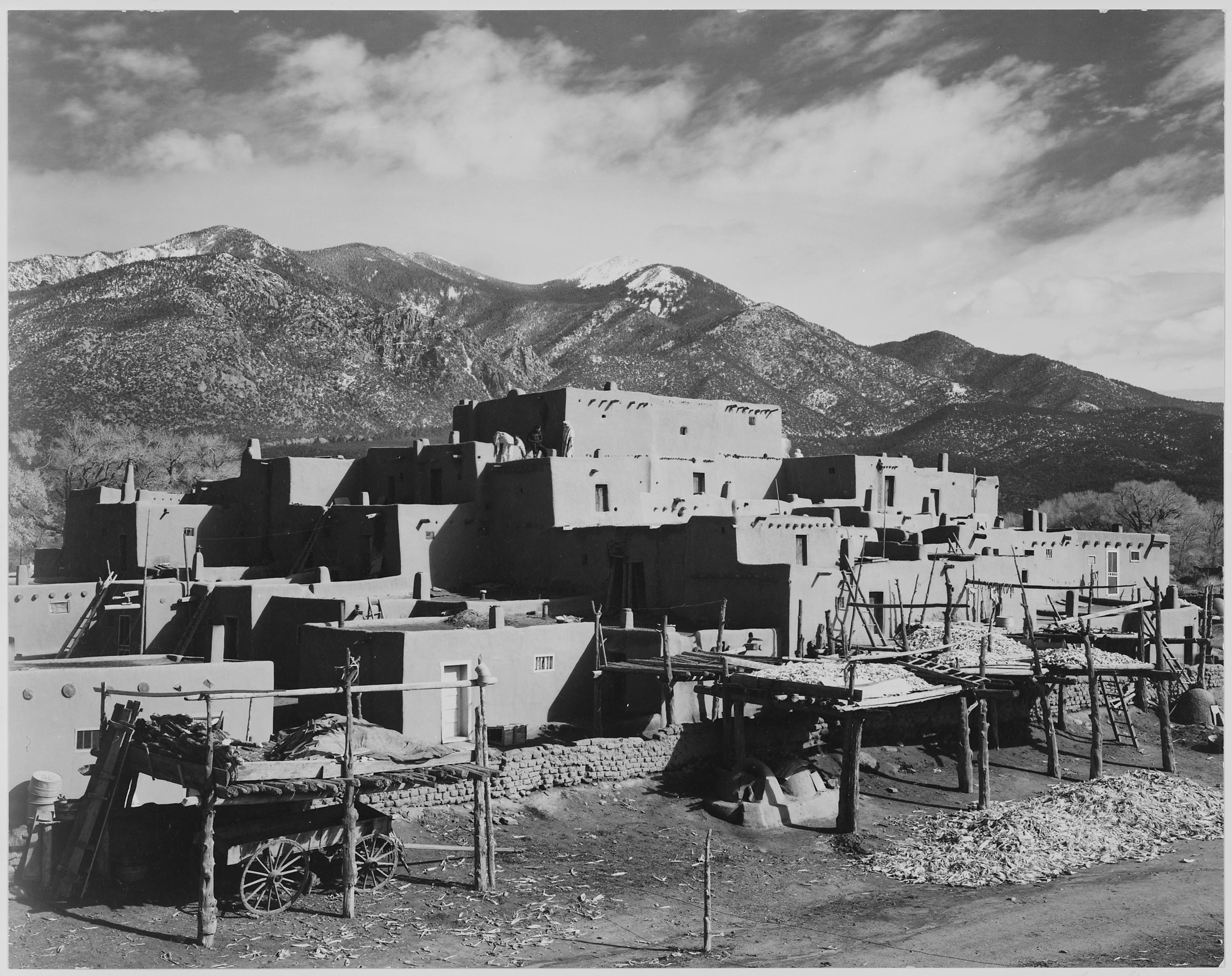 Ansel Adams Photographs Emphasized The Beauty Of Nature As