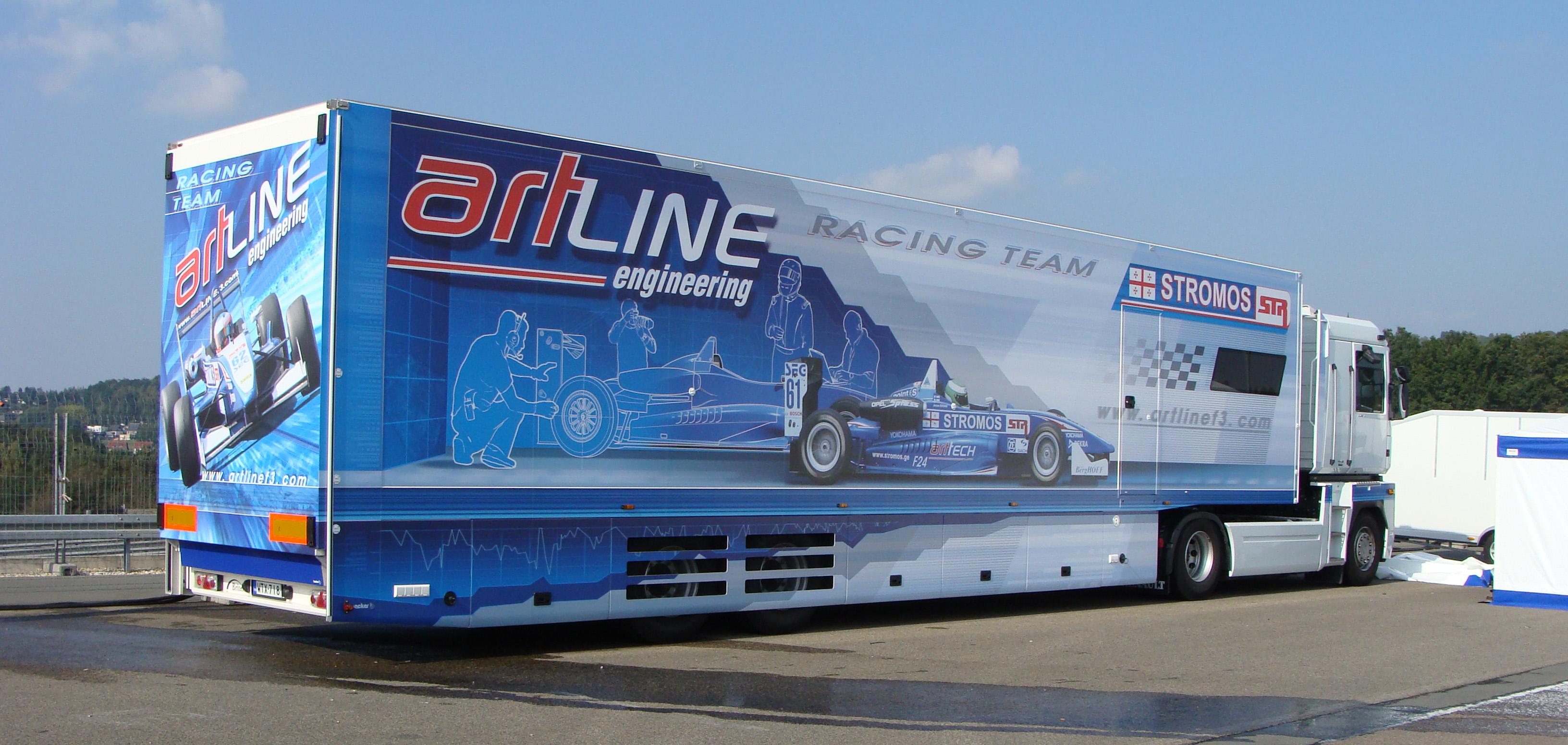 motor home truck team  Artline_truck