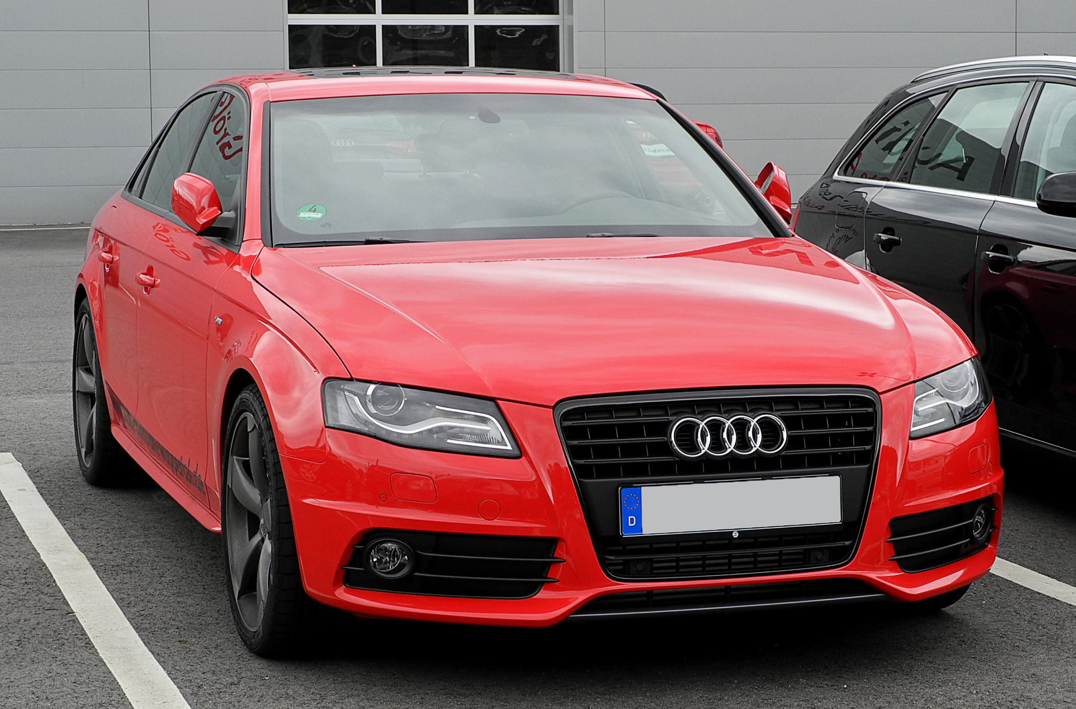 File Audi A4 Tfsi S Line B8 Frontansicht 13 Juni