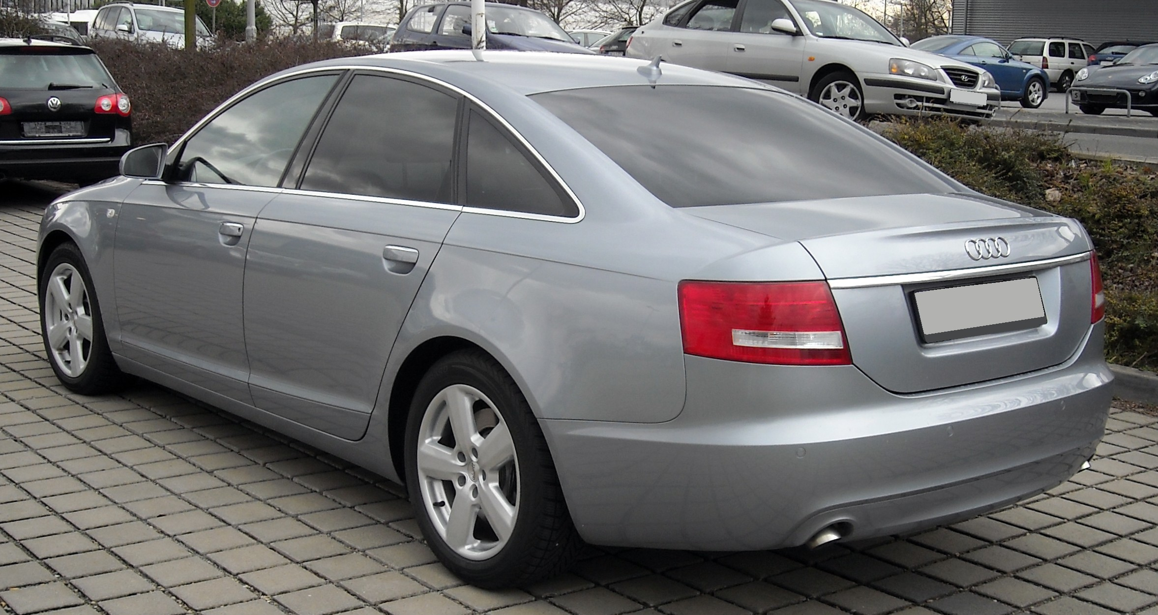 File Audi A6 C6 Rear 20090329 Jpg Wikimedia Commons