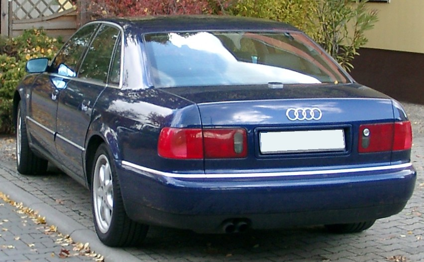 File Audi A8 D2 Rear 20071030 Jpg Wikimedia Commons