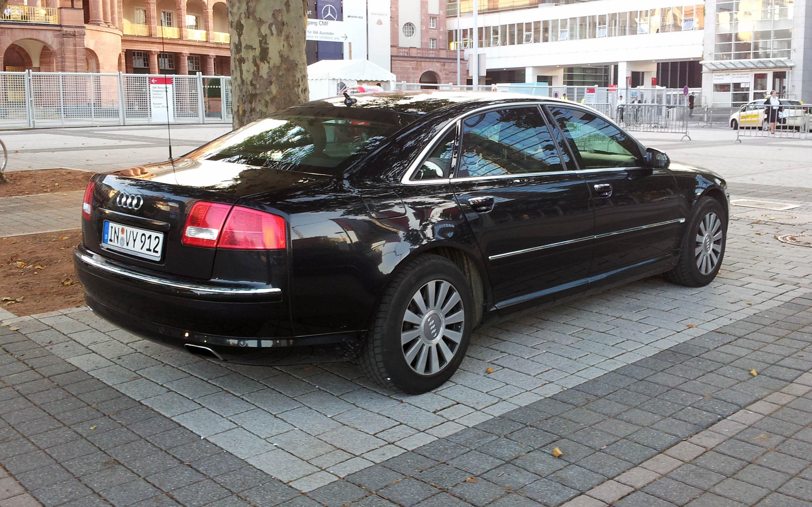 The Audi A8 L Security W 12