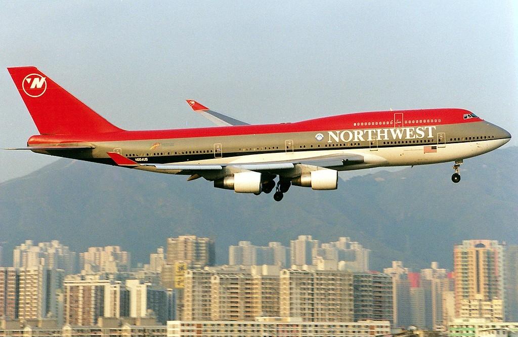 América Fora do Radar: Northwest Airlines