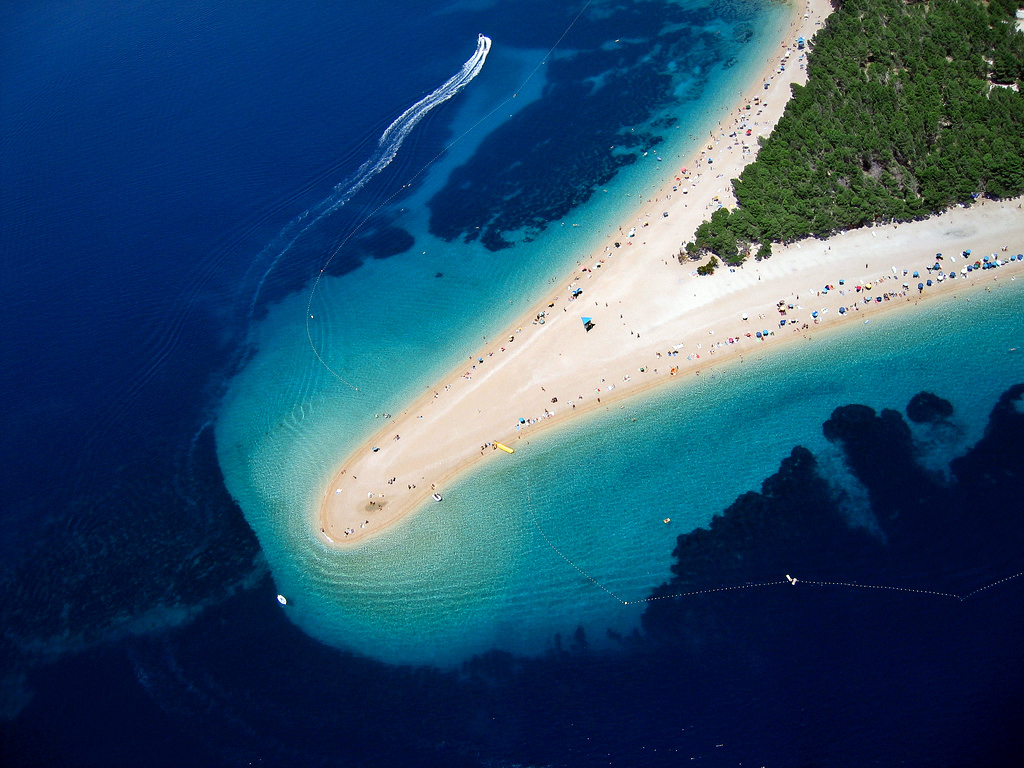 Zlatni rat on Brac