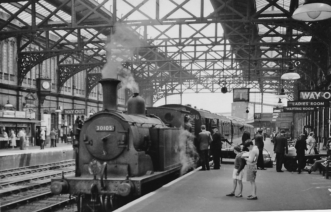 File Bournemouth Central Station With An 0 4 4t About To