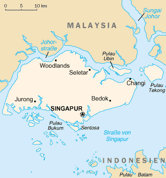 CIA World Factbook map of Singapore (German).png