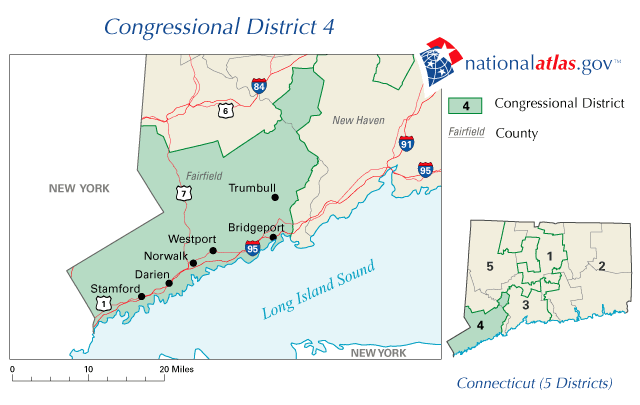 FileCT Th Congressional Districtpng Wikimedia Commons - Connecticut on a us map