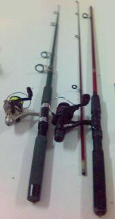 längd på fiskespö