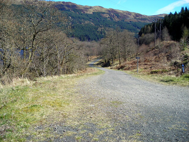 Callander to Strathyre Cycleway - geograph.org.uk - 394814