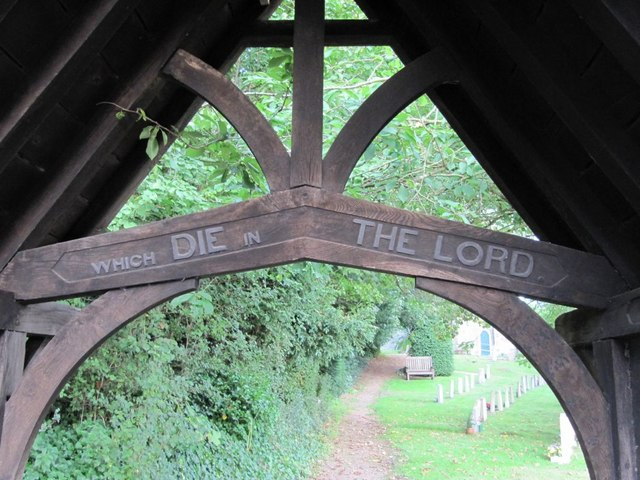 File:Carved in the gate - geograph.org.uk - 1453630.jpg ...