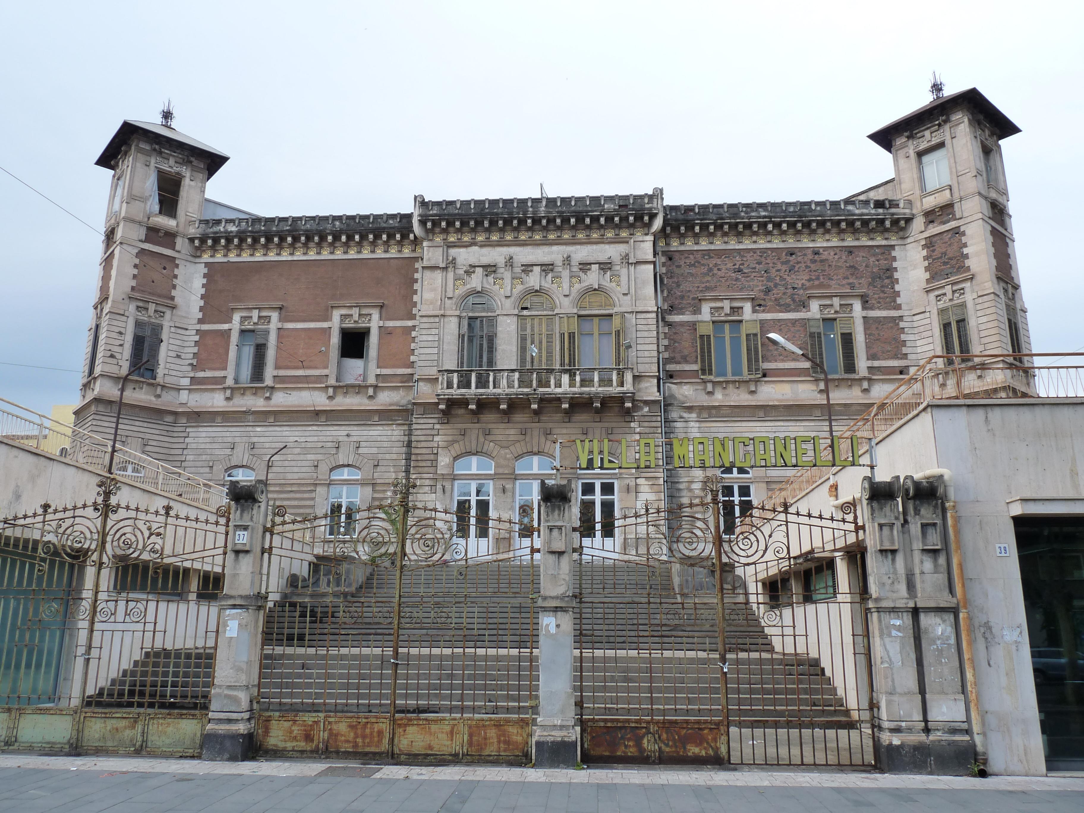 Villa Florio Piazza Camporeale Palermo