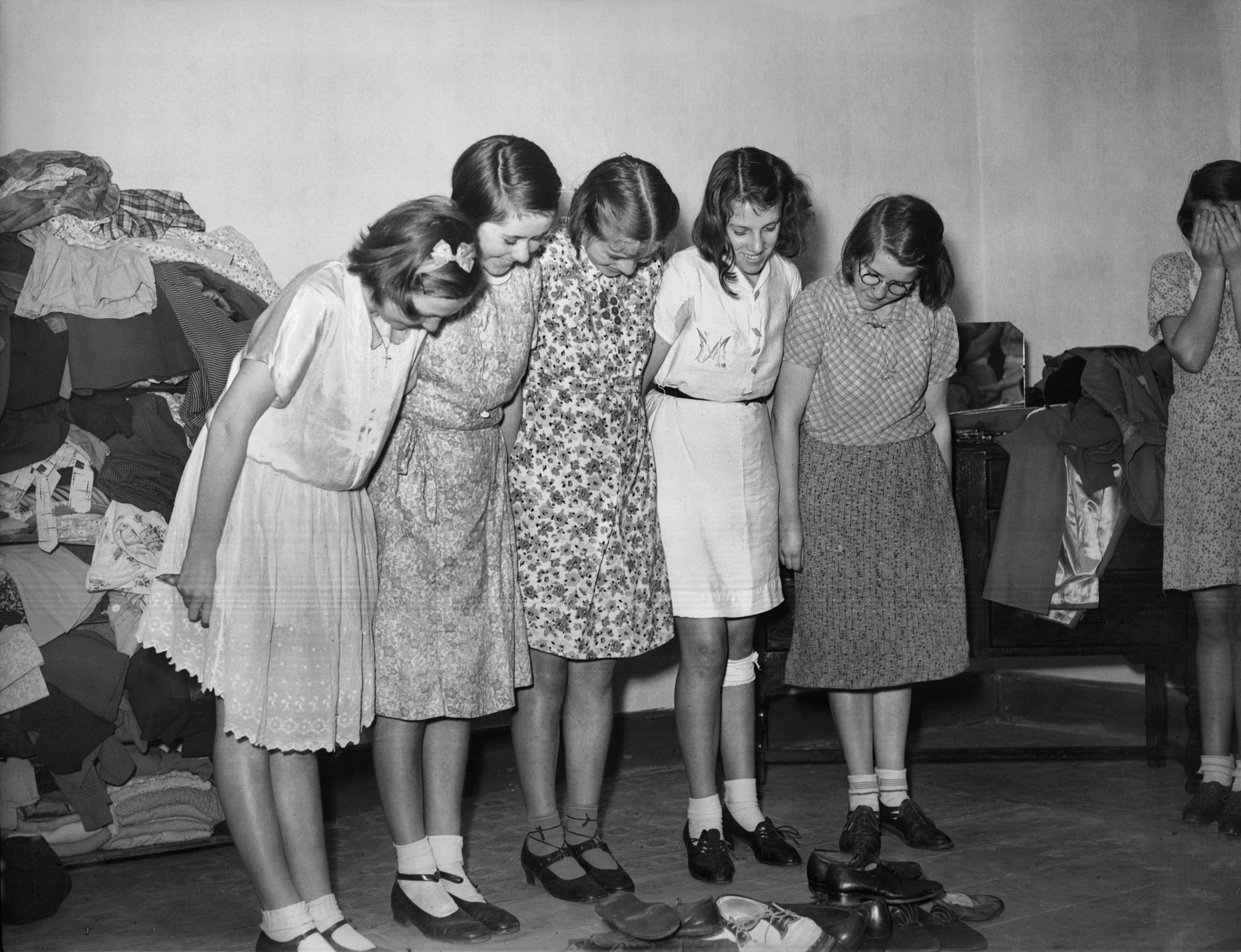 1940s fashion shoes