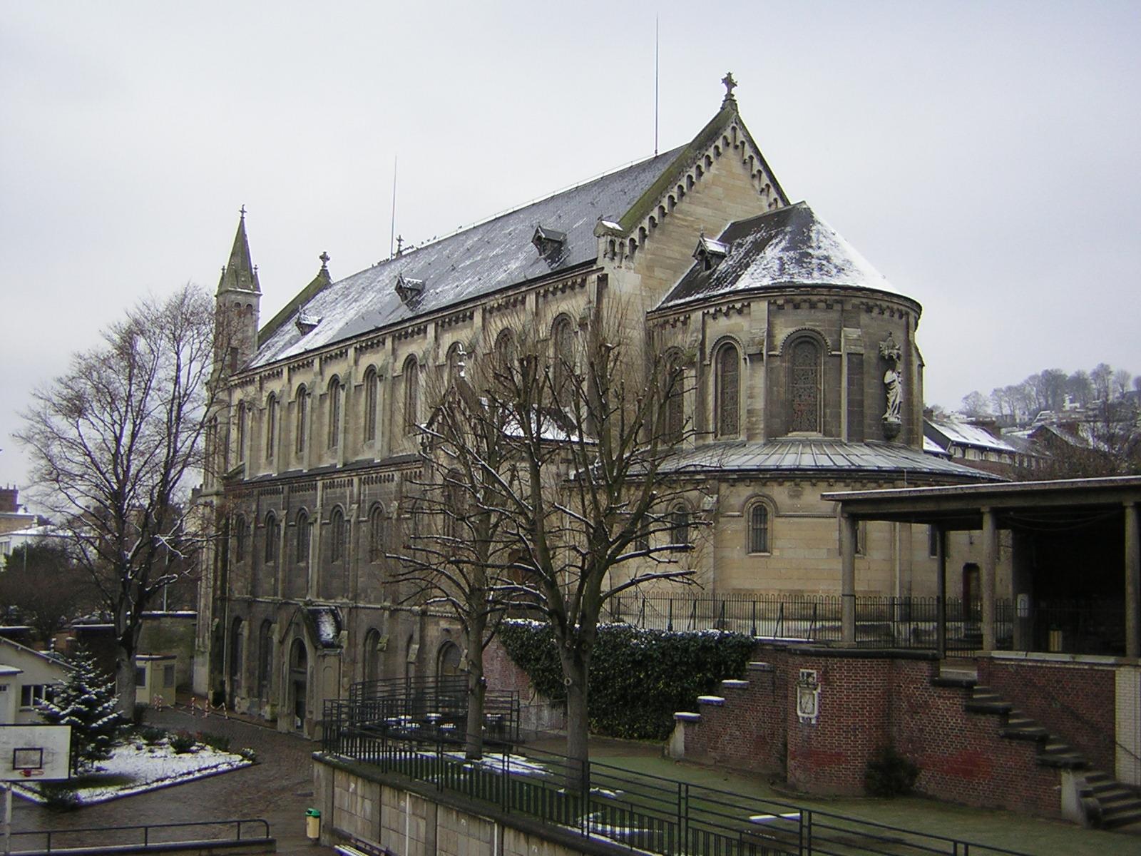 file chapelle du pensionnat jb de la salle rouen jpg wikimedia commons