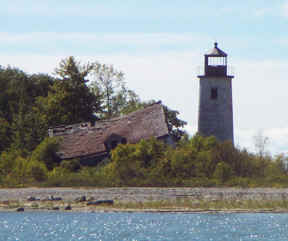 Charity Island Light lighthouse in Michigan, United States