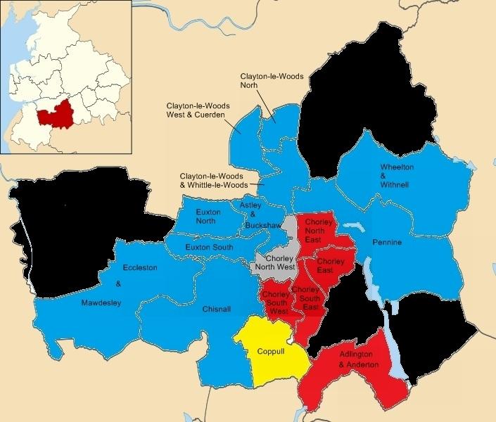 Chorley Borough Council election, 2010 - Wikipedia
