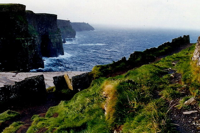 Cliffs of Moher in better weather - geograph.org.uk - 1639739