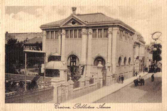 Imagini pentru biblioteca aman craiova