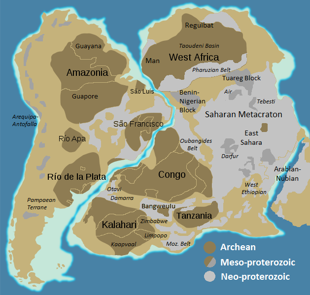 Pan African Orogeny Wikipedia