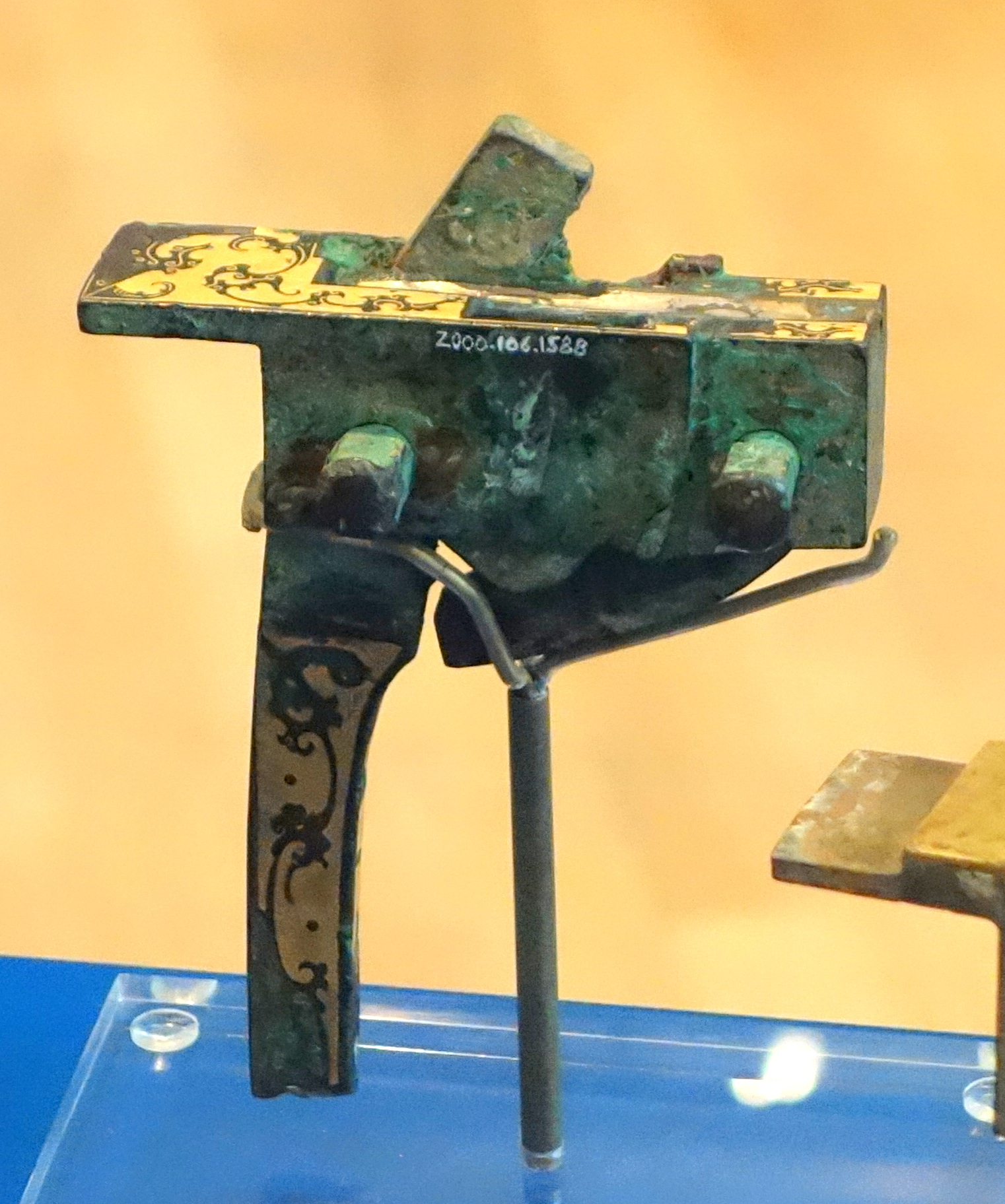 File:Crossbow mechanism, China, Han dynasty, 206 BC - 220 ...