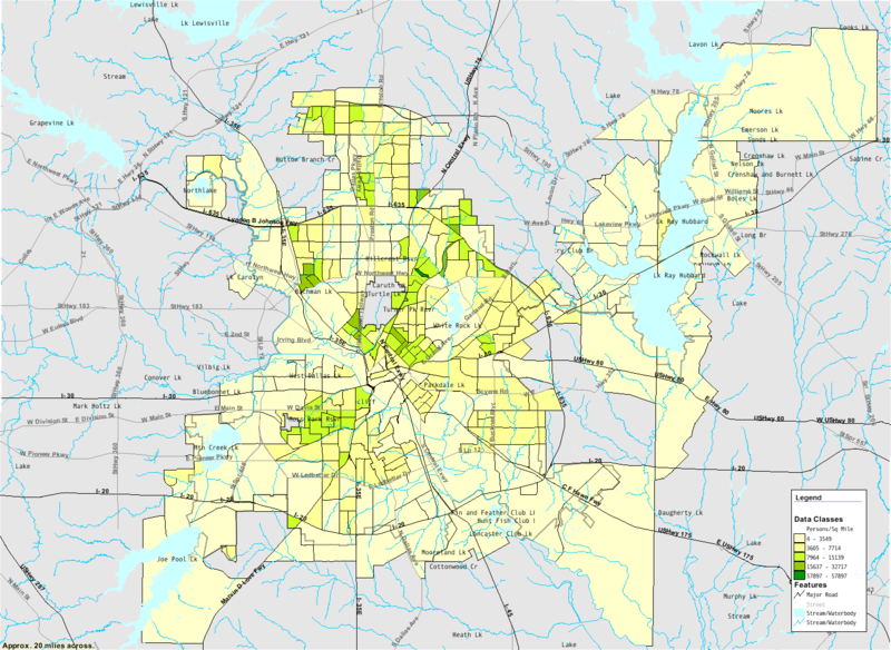 geography of dallas Dallas (/ ˈ d æ l ə s /) is a city in the us state of texas it is the most populous city in the dallas–fort worth metroplex, which is the fourth most populous.