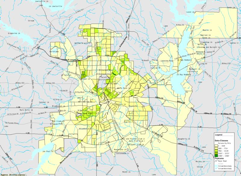 Houston Vs Dallas San Antonio El Paso Center Ghettos