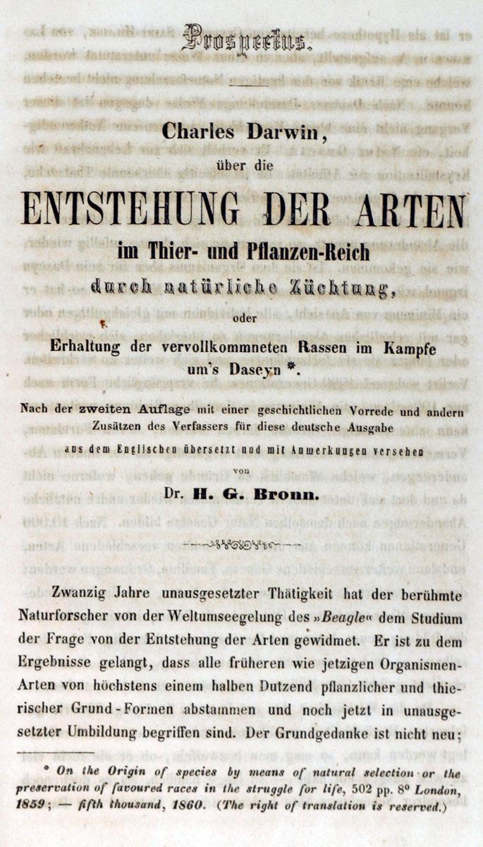 Filede Entstehung Der Arten 1860 Darwin P 001jpg
