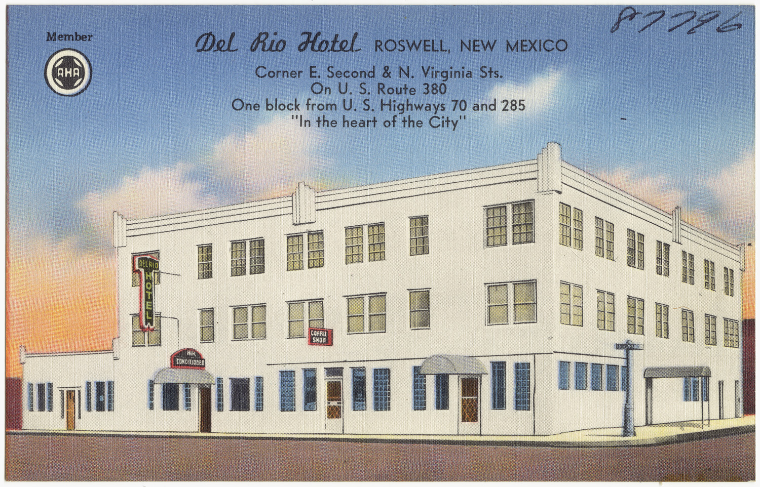 File Del Rio Hotel Roswell New Mexico Corner E Second And
