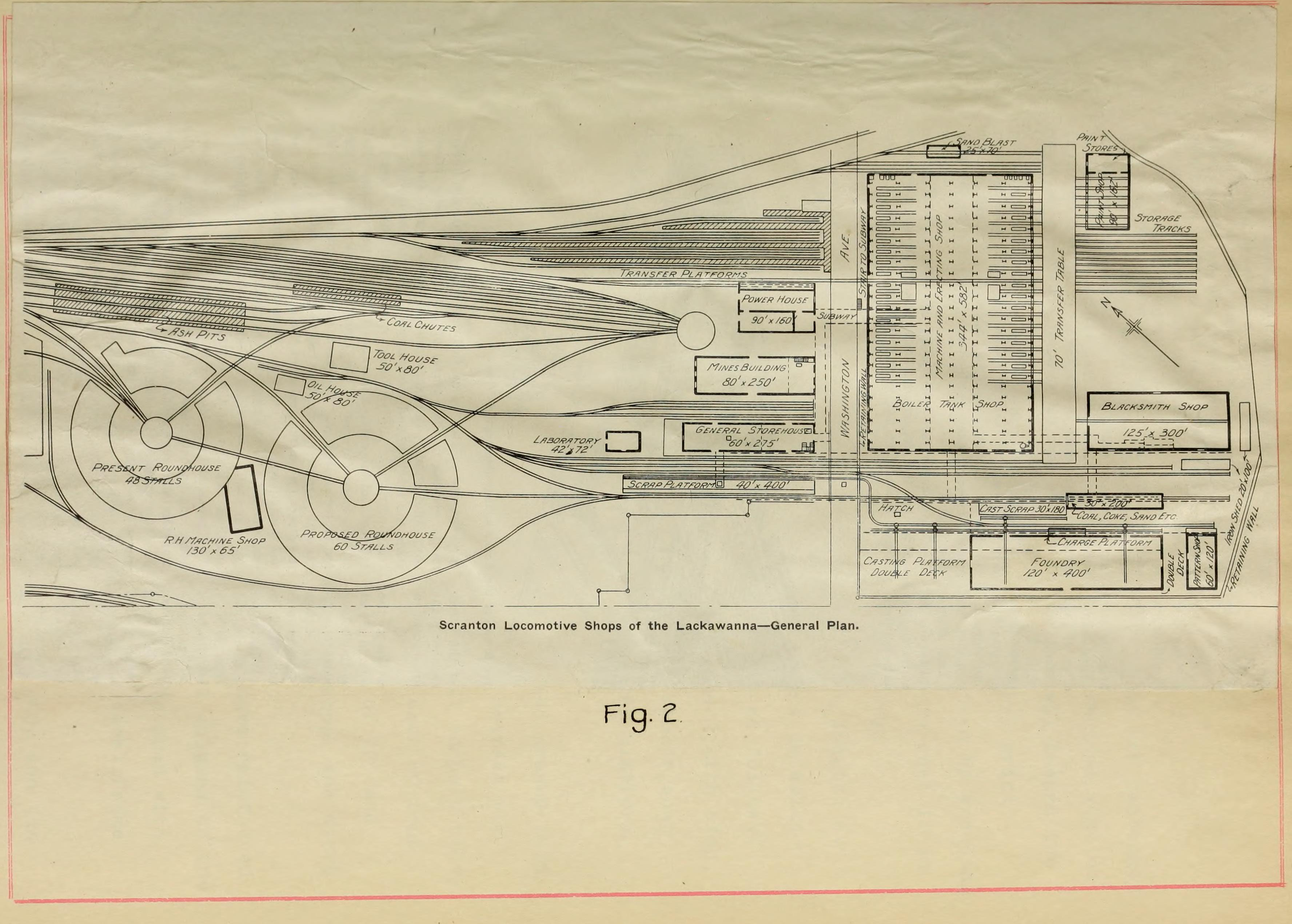File:Design of the freight yard of the Delaware, Lackawanna ... on