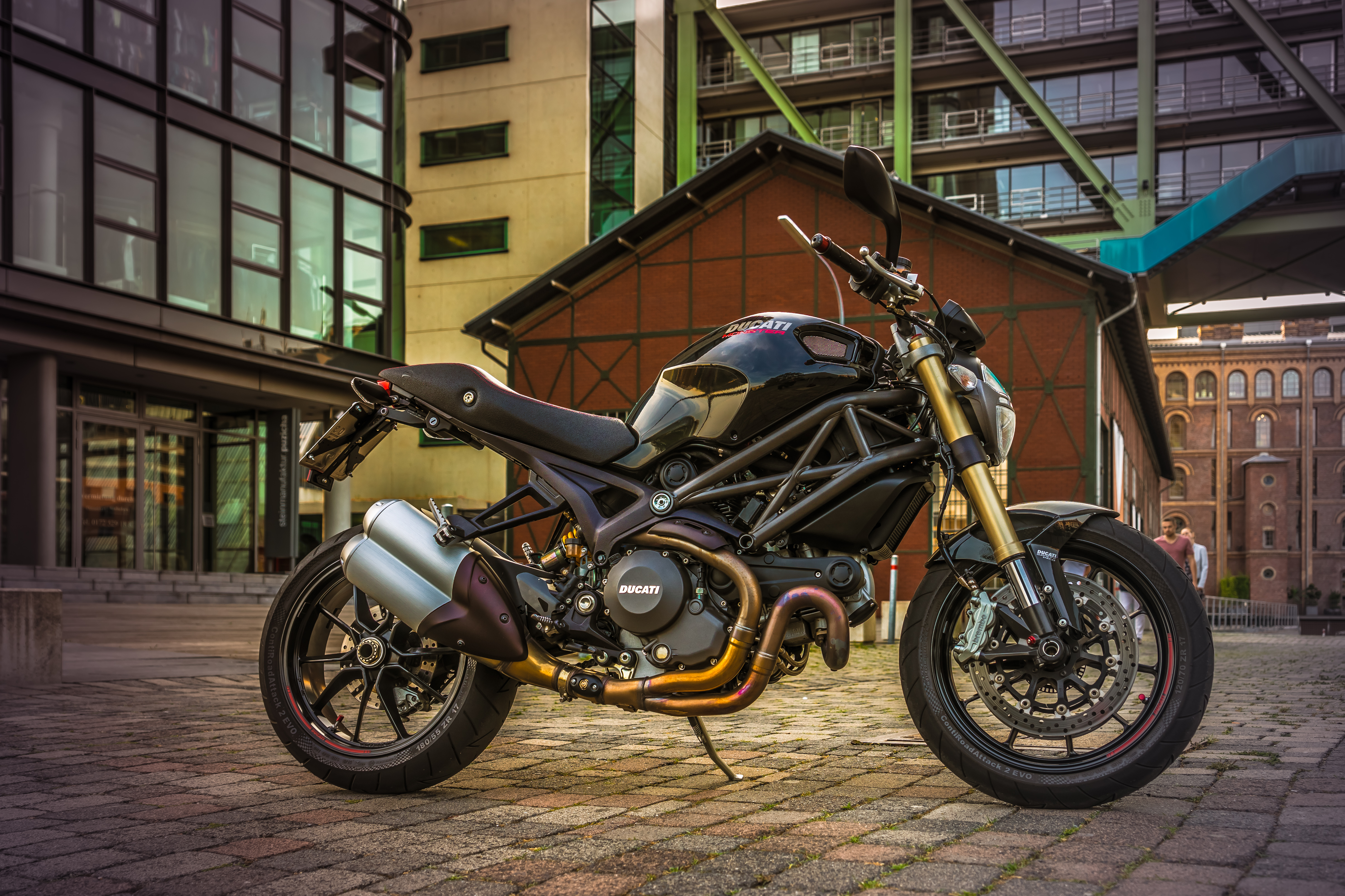 Black Ducati Monster For Sale