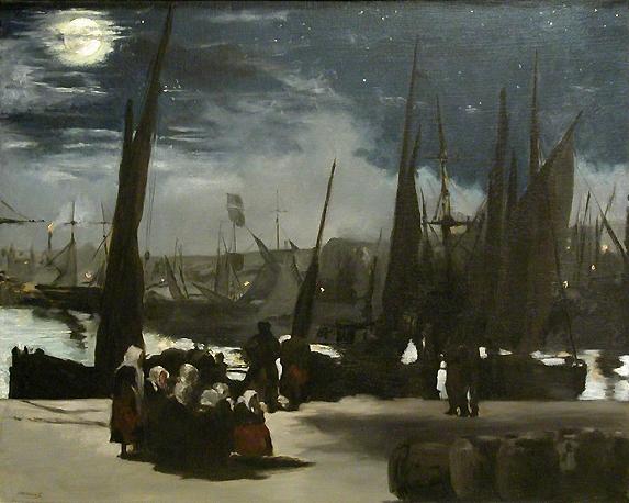 File:Ed. Manet. Clair de lune sur le port de Boulogne.jpg