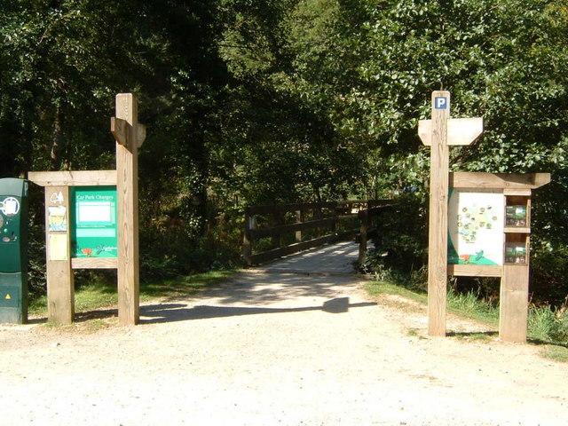 Entrance to Cardinham Woods - geograph.org.uk - 560215