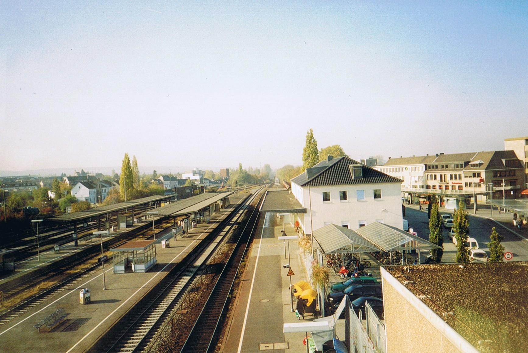 Bahnhof Euskirchen Wikipedia